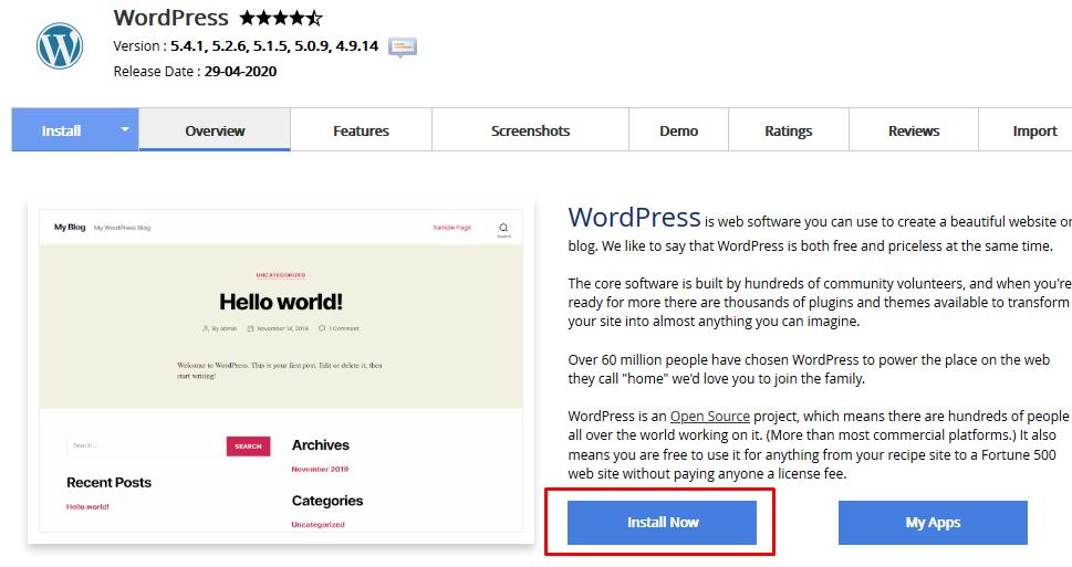 comment commencer un blog wordpress